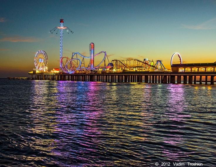 123 Best Images About Galveston Island Historic Pleasure Pier On Pinterest