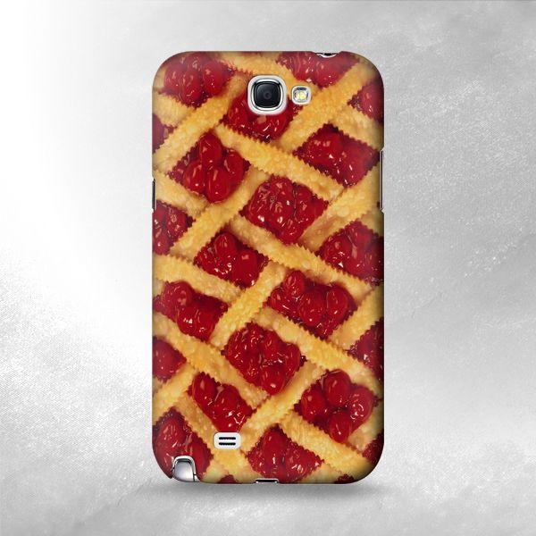 .com - S0630 Cherry Pie Case For Samsung Galaxy Note 2 ...