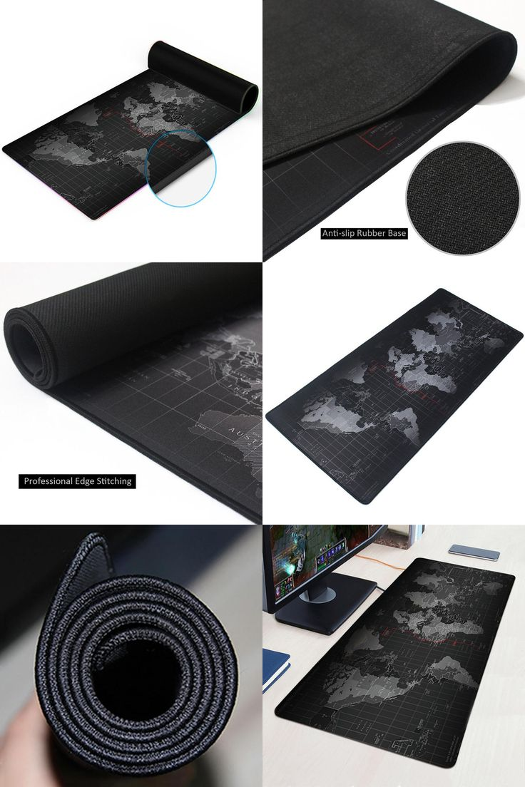 [Visit to Buy] World map Large Gaming Mouse Pad Keyboard Mat Anti slip Mousepad Natural Rubber Cloth Huge Size Mousepad For Dota 2 CS Go LOL #Advertisement