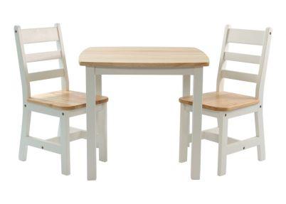 Tafelset 'Beech XL' voor kinderen   Set Brandon   Tafeltjes en stoelen