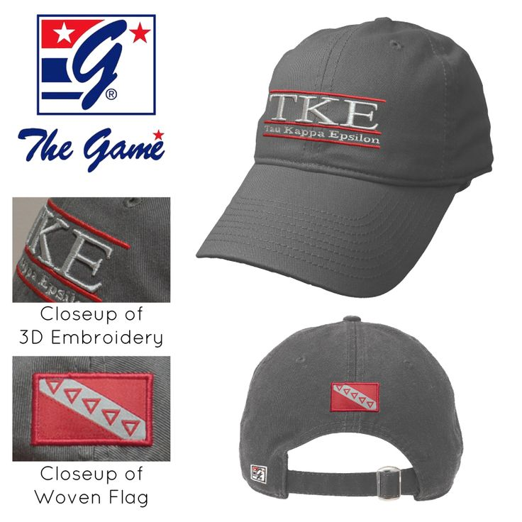 TKE Charcoal Ultimate Hat by The Game®