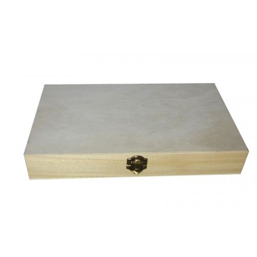 Plain Wooden Brush, Pencil, Medal Box  - Square & Rectangular Boxes - Plain Wooden Boxes | The Wooden Box Mill