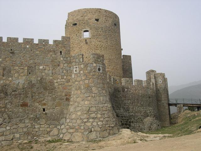 Castillo de La Adrada, Avila, España.