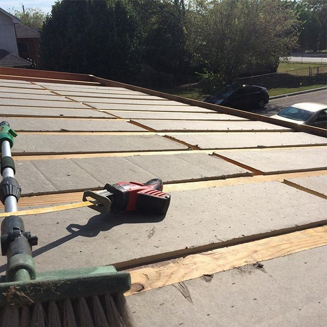 We Used A Twin Layer Commercial Grade Flat Roof Insulation (ISO Board)