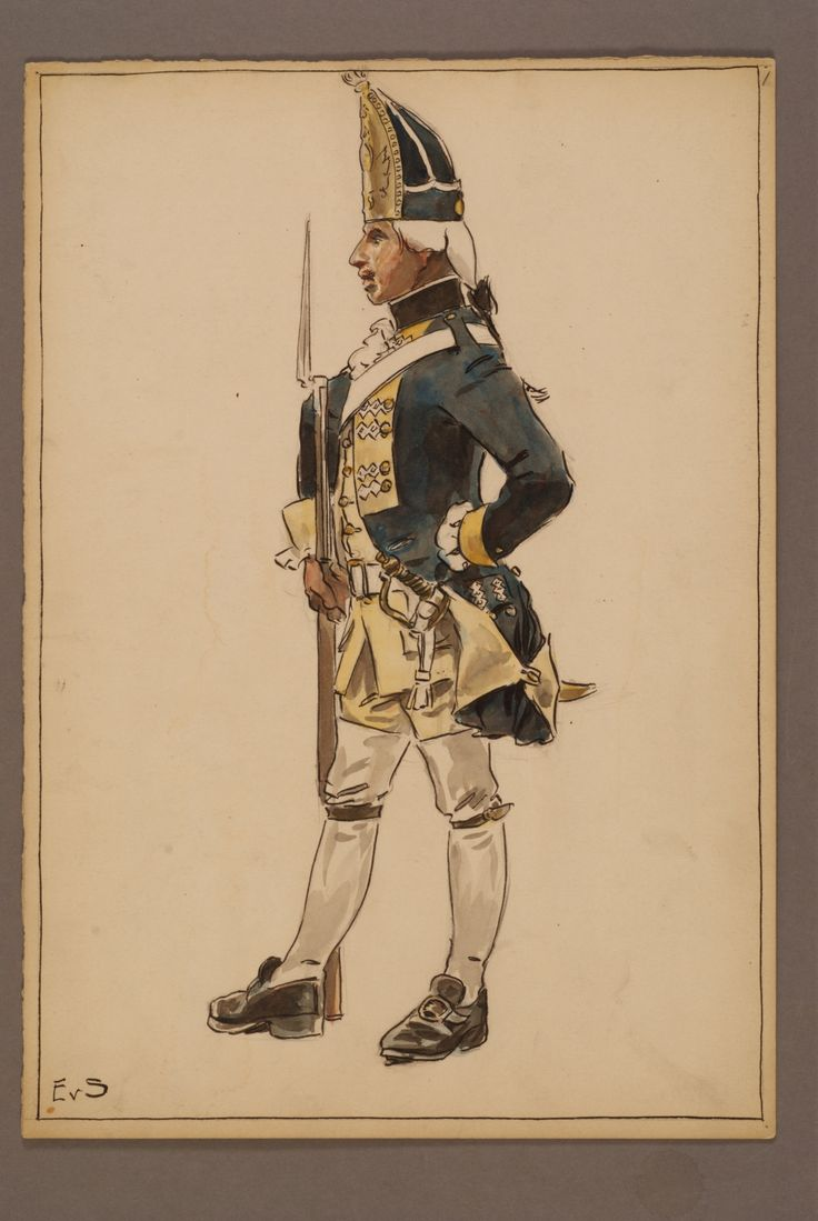 Regiment of Södermanland by Einar von Strokirch