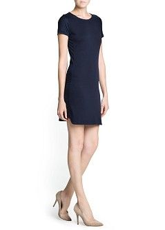 MANGO - Promotions - Dresses - Contrasting panel dress