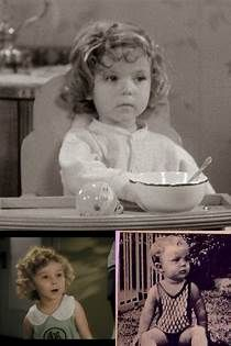 The adorable, Shirley Temple