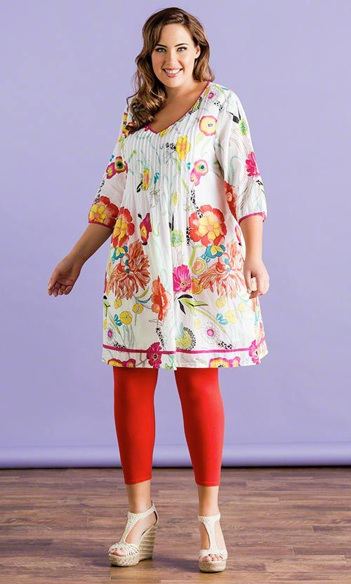 Julia Blouse / MiB Plus Size Fashion for Women / Summer Fashion / Florals http://www.makingitbig.com/product/5216