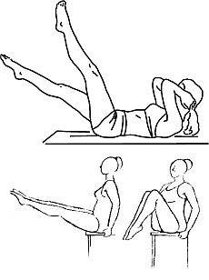 Как убрать жир с живота с помощью упражнений