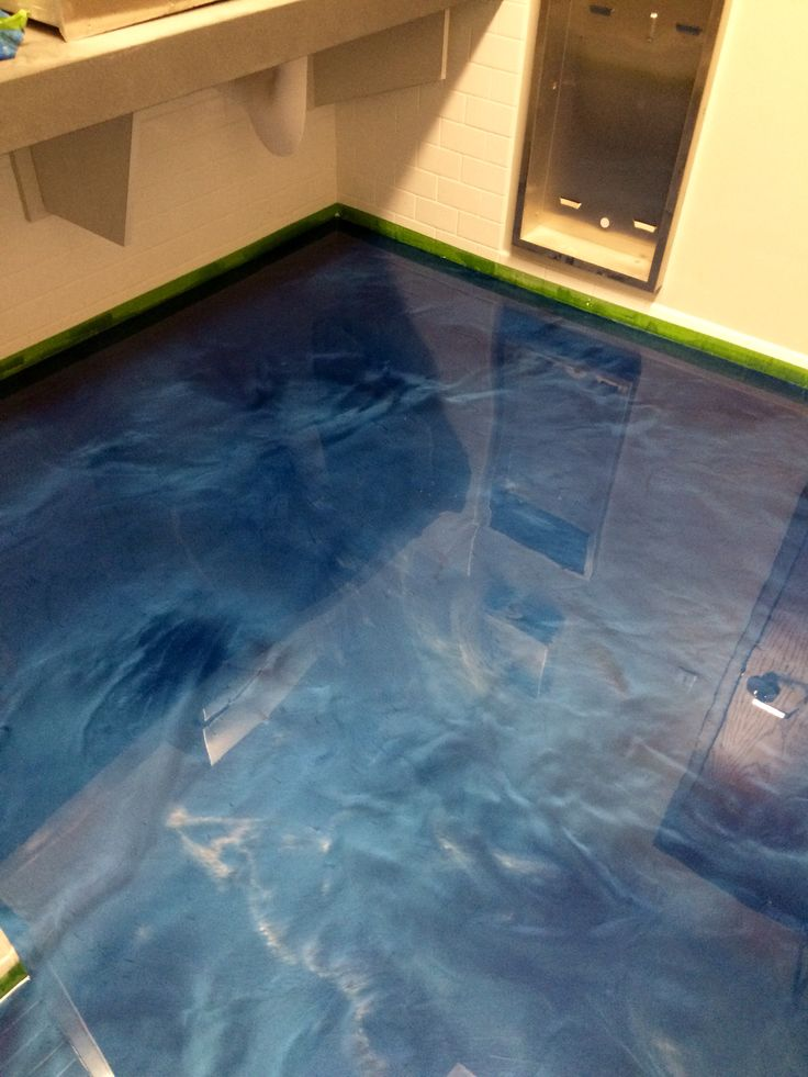 Metallic Epoxy Floor Coatings By Sierra Concrete Arts
