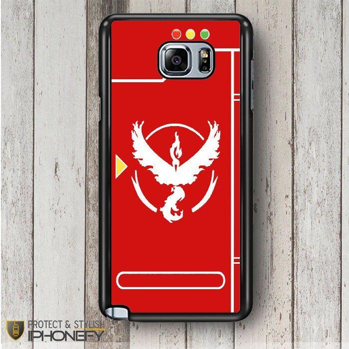 Pokemon Go Team Valor Pokedex Samsung Galaxy Note 4|5 Case|iPhonefy