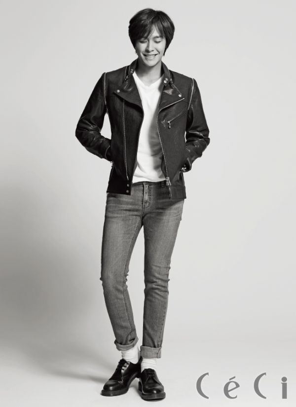 N. Flying member Kwangjin in Ceci Korea