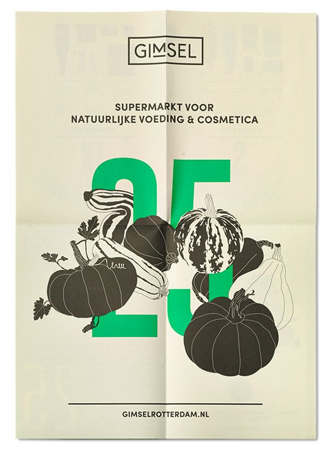 Gimsel Organic Supermarket by Studio Beige → more on designvertise.com