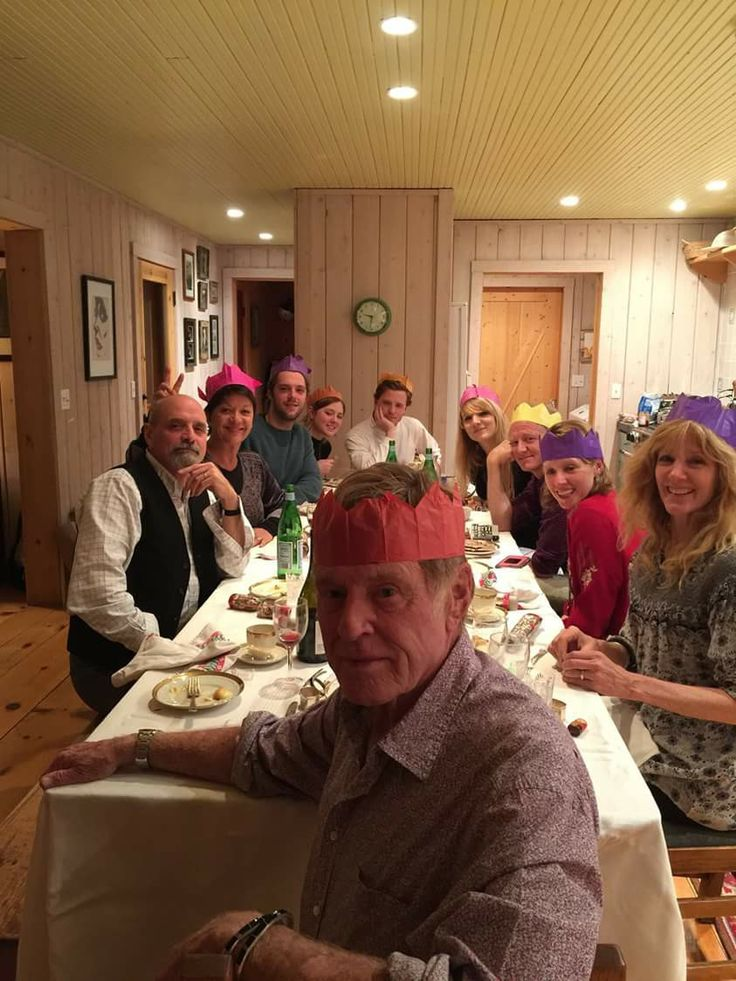 Robert Redford & his Family On Christmas 2016