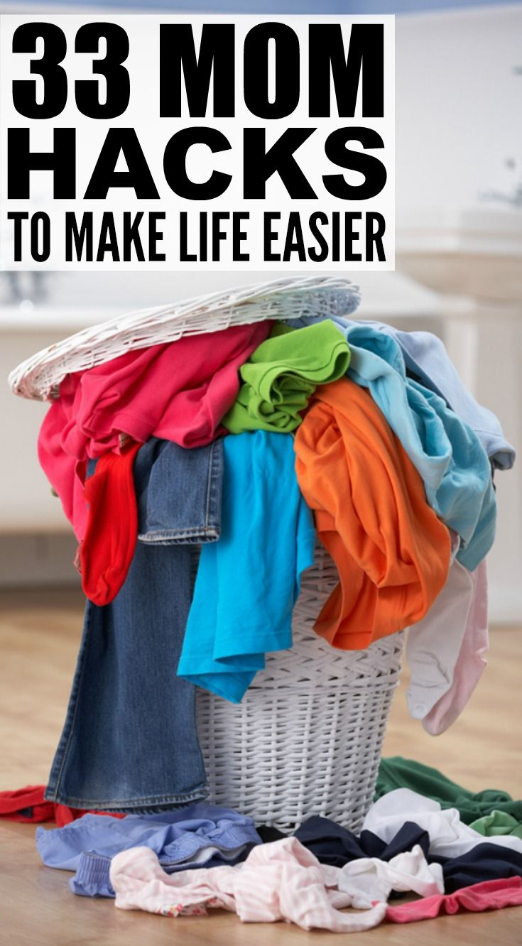 Whether you're a working mom or stay-at-home mom, just had a baby or spend your day chasing after toddlers, have school-aged kids or just dropped your firstborn off at high school, this collection of mom hacks will be a lifesaver on hectic, busy days. From grocery shopping with kids to laundry hacks to DIY bath time activities, these lifestyle hacks will inspire you.