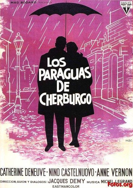 Los paraguas de Cherburgo (1964) Francia. Dir: Jacques Demy. Musical. Romance. Drama. Nouvelle vague - DVD CINE 459