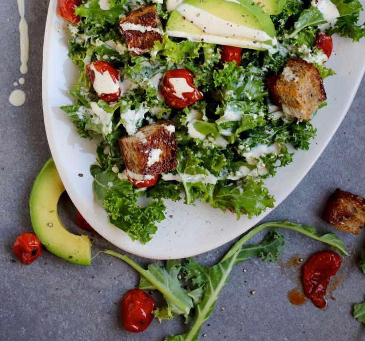 ... kale ceaser ceaser salad kale caesar salad vegan kale vegetarian vegan