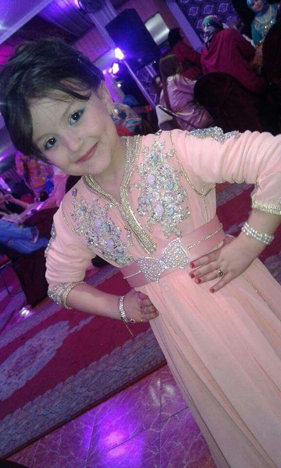 Moroccan caftan for little girls #moroccancaftan