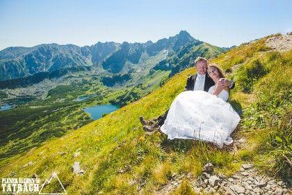 Plener na Kasprowym Wierchu, Fotografia ślubna w Zakopanem, Świnica, Dolina Gąsienicowa
