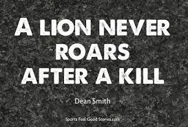 Résultats de recherche d'images pour «lion quote»