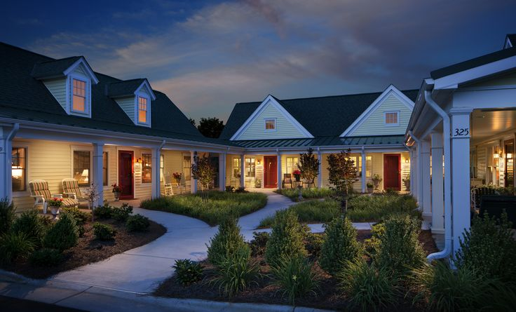 The Bayberry Cluster Homes Offer One And Two Bedroom