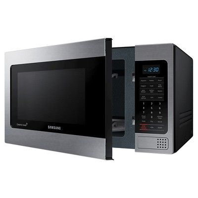 Samsung 1.1 Cu. Ft. 1000 Watt Microwave Oven - Black MG11H2020C