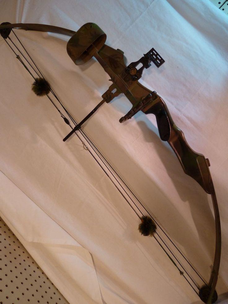 Vintage Archery Set Pse Camouflage Compound Bow W Cobra