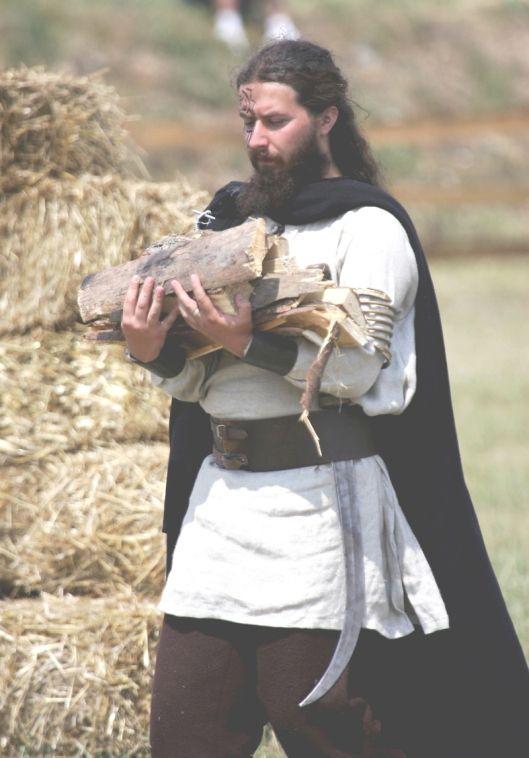 Ancient dacian man, warrior