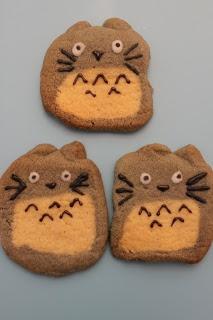 Totoro Icebox Cookies ~ The barefoot bear
