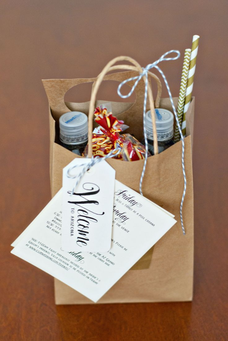 Wedding Welcome Bags | Handmade and Homegrown