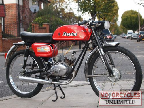 Vintage Mopeds for Sale | 1970 NEGRINI 50 for sale | Motorcycles Unlimited
