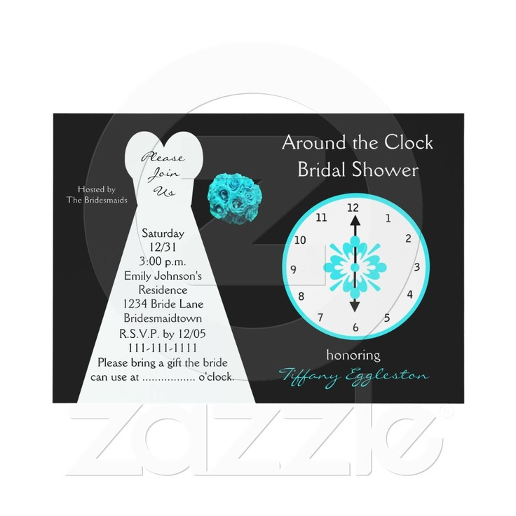 10 best Bridal/Around-the-Clock shower ideas images on ...