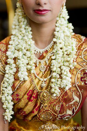 This Indian bride and groom are ready to celebrate in style with a gorgeous mandap, beautiful portraits, and a stunning reception!