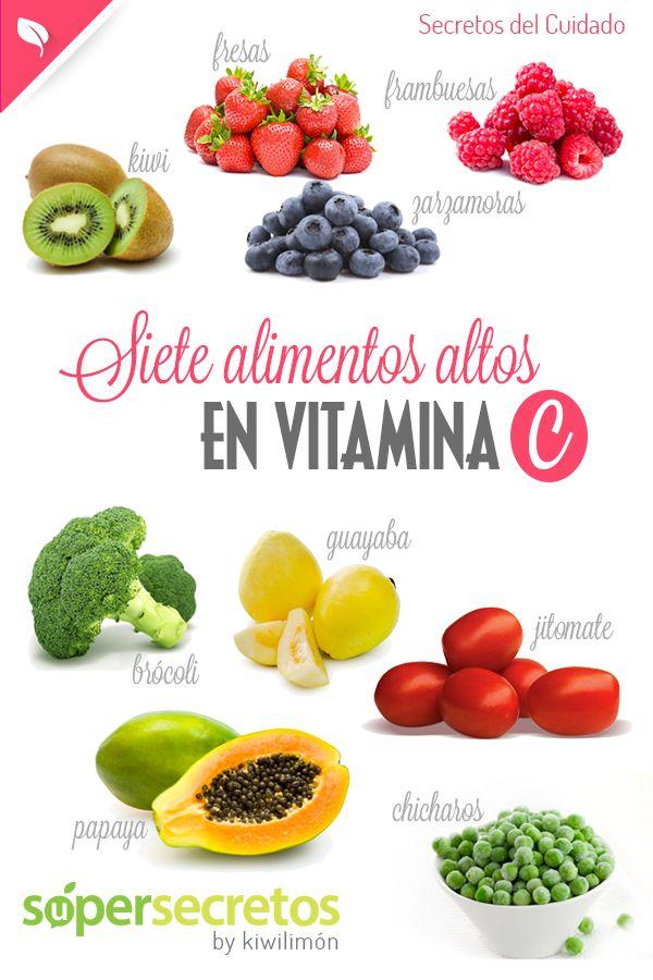 7 alimentos altos en vitamina C
