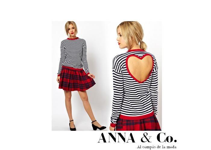 Anna: Suéter de corazón - Kichink!
