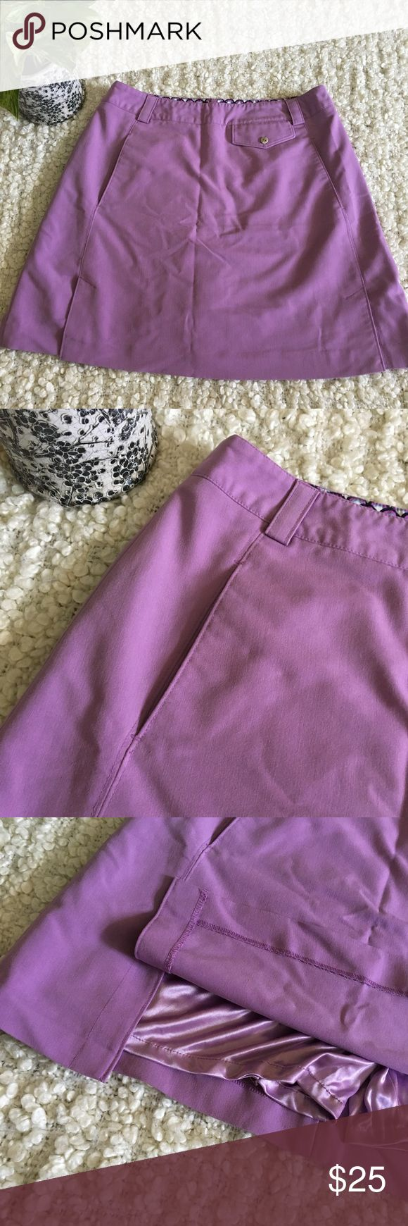 Sport Haley • Purple golf skort with pockets Cute purple skort (this brand is commonly associated with golf skorts) with pockets and front side slits. Shorts underneath are silly and soft. Great for fitness use or casual. Nothing wrong with them item, selling it for a friend, and it just does not fit her anymore. Sport Haley Shorts Skorts