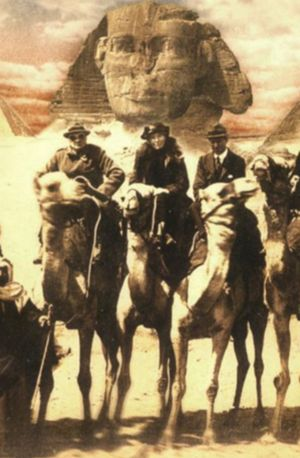 Winston Churchill, Gertrude Bell, Lawrence of Arabia, 1921 | Gertrude Bell encyclopedia article