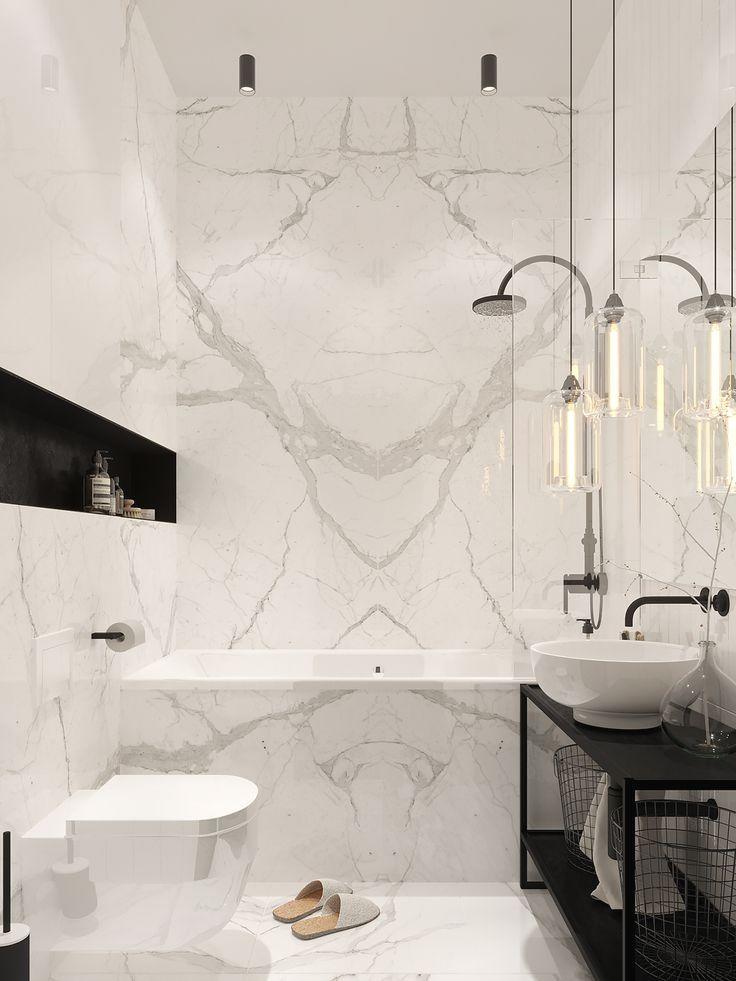 Luxurylife Projeto Design Instaday Marble Staircase Idea Modern Luxury Decoracion Modern Marble Bathroom Modern Bathroom Design White Bathroom Tiles