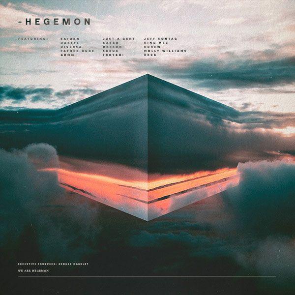 Hegemon - Compilation - Client: Hegemon - album cover artworks by Samuel Burgess-Johnson