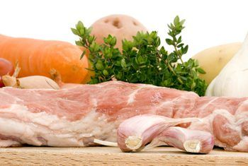 Lamb neck fillet with vegetables and herbs (focus on meat) image by Sophia Winters from Fotolia.com60gram carb diet