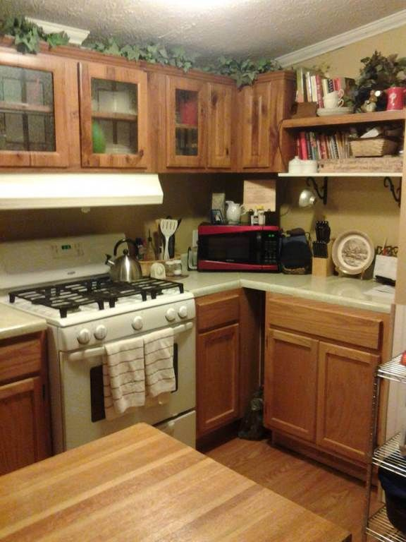 137 best mobile home renovations images on pinterest for Mobile home kitchen ideas