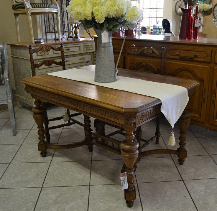 Vintage Renaissance table. Exquisite detailing