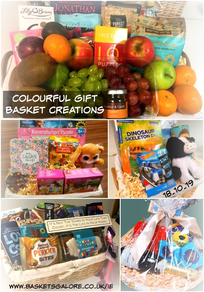 Colourful Gift Basket Creations Kids Gift Baskets Gift Baskets Get Well Gifts