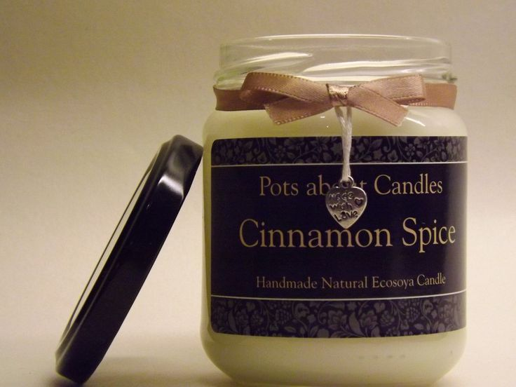 Cinnamon Spice Scented Candle