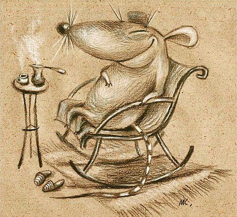— Для стабилизации моего внутреннего дзен, плесни мне, пожалуйста чашечку кофе! — А шоколадка? — А это, уже для нирваны…