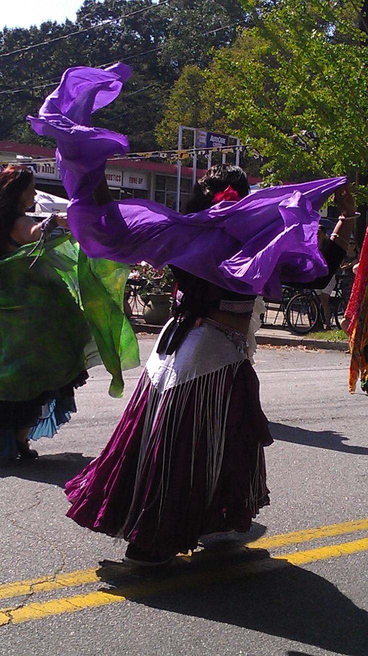 Dancer at Oakhurt Arts & Music Festival 2012