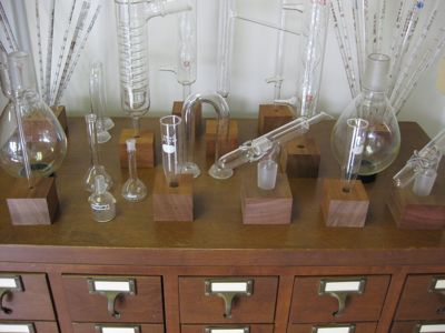 vintage lab glassware  Gimme that Old Tyme Science  Chemistry labs Retail space Vintage