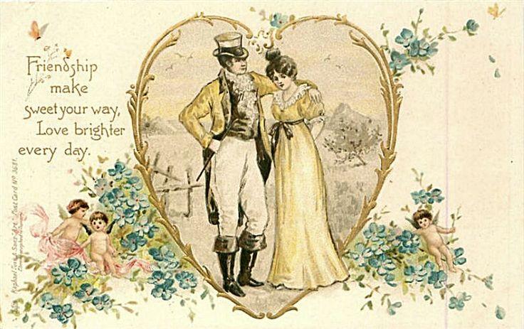 Новым годом, свадебные открытки 19 века
