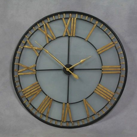 Black garden clocks that are very heavy and well made, must be of high quality,  well that smithers of stamford high quality clocks it just has to be smithers
