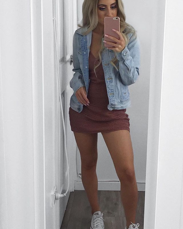 Ob-sessed With This Light Wash Denim Jacket From @fashionnova I Literally Wear It Everyday Itu0026#39;s ...